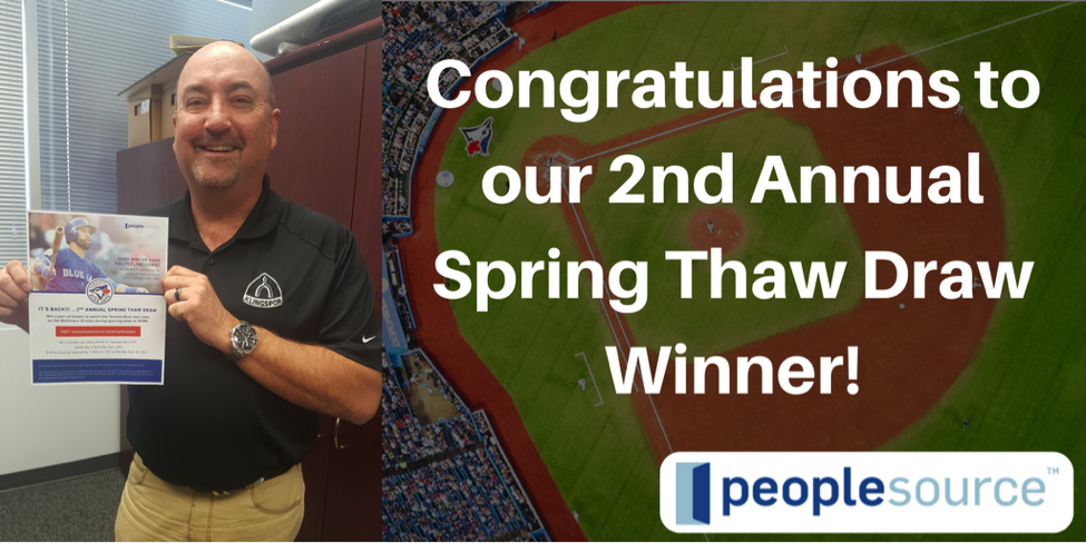 2nd Annual Spring Thaw Draw Winner