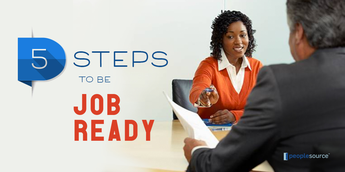 5 Steps to Be Job Ready