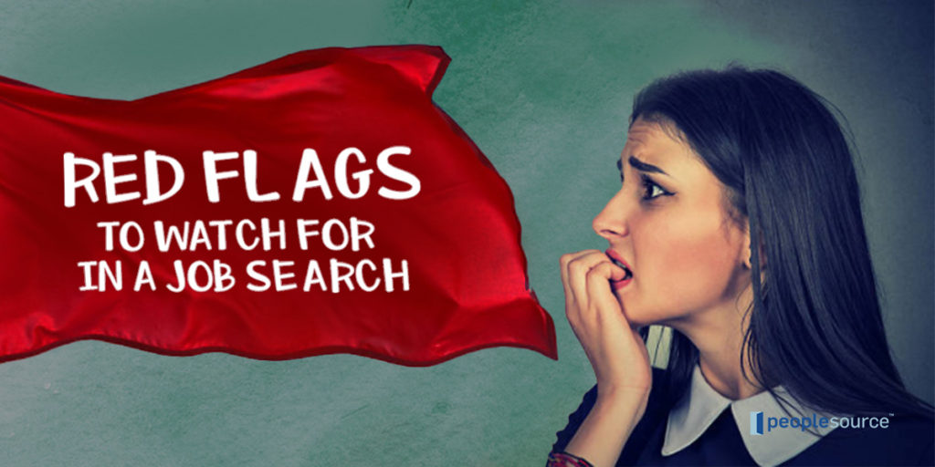 Red Flags To Watch For In A Job Search